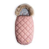Beztroska fusak-kožušina 110 cm, Pink powder (5-36) / L