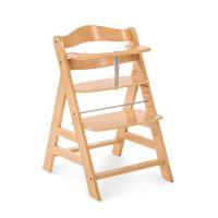 Hauck Alpha+ drevená stolička, natural