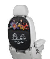 Babypack Organizér a ochrana autosedadla, čierny