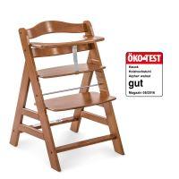 Hauck Alpha+  dřevená židle, walnut